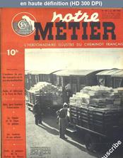 NOTRE METIER LA VIE DU RAIL numéro 153 du 31 mai 1948