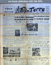 LA TERRE  numéro 544 du 24 mars 1955