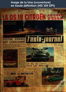 L' AUTO-JOURNAL  numéro 150 du 15 mai 1956