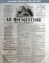 LE MOUSQUETAIRE  numéro 310 du 06 novembre 1855