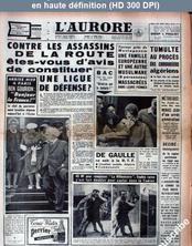 L' AURORE  numéro 4904 du 14 juin 1960