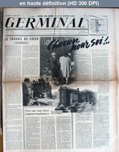 GERMINAL numéro 3 du 12 mai 1944