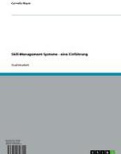 Skill-Management-Systeme - eine Einführung