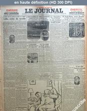 LE JOURNAL  numéro 12684 du 10 juillet 1927
