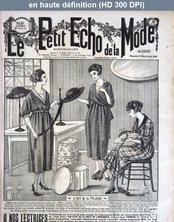 LE PETIT ECHO DE LA MODE  numéro 12 du 21 mars 1920