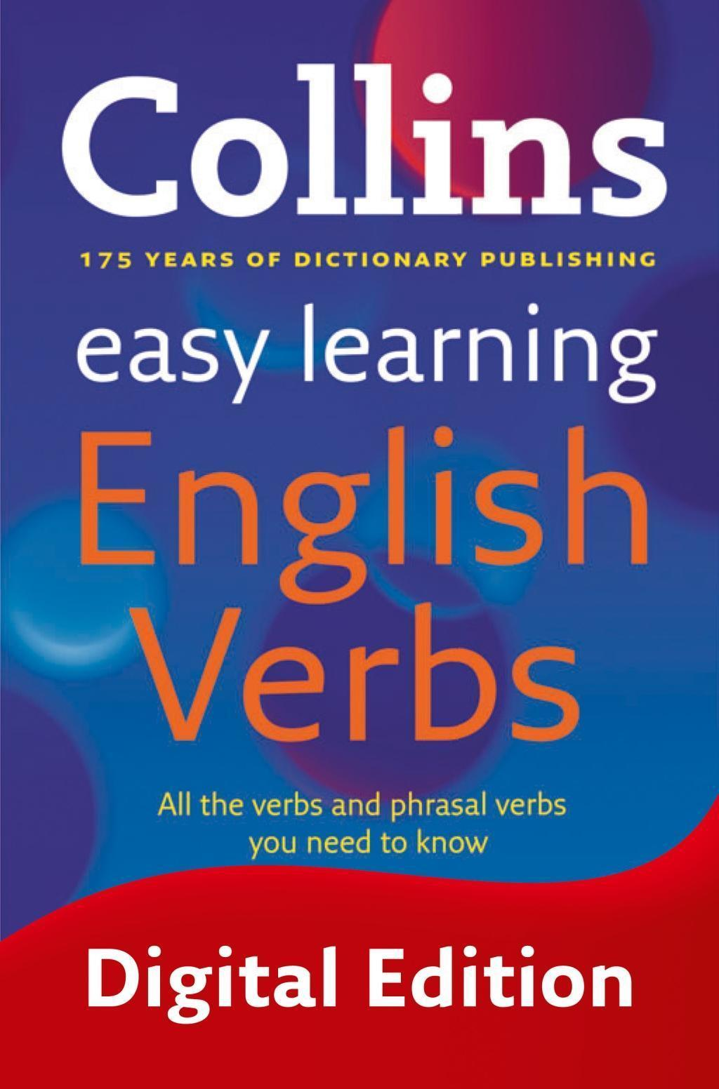 Easy Learning English Verbs (Collins Easy Learning English)