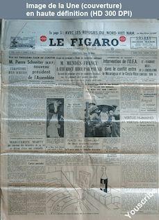 LE FIGARO  numéro 3219 du 13 janvier 1955