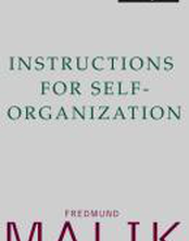 Instructions for Self-Organization