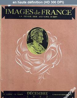 IMAGES DE FRANCE PLAISIR DE FRANCE numéro 91 du 01 décembre 1942