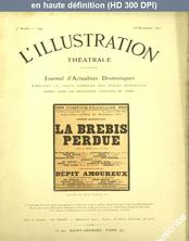 LA PETITE ILLUSTRATION THEATRE  numéro 194 du 25 novembre 1911