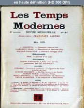 LES TEMPS MODERNES  numéro 67 du 01 mai 1951