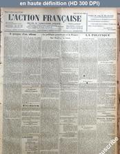 L' ACTION FRANCAISE  numéro 103 du 12 avril 1928