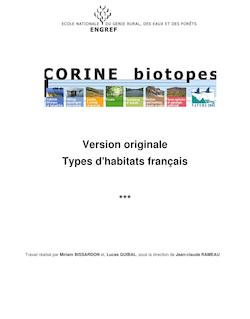 Corine Biotopes