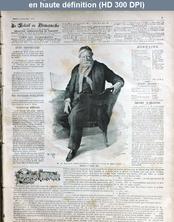 L' ILLUSTRE SOLEIL DU DIMANCHE  numéro 2 du 10 janvier 1892
