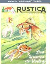 RUSTICA numéro 15 du 10 avril 1955