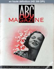 ABC MAGAZINE numéro 112 du 01 avril 1934
