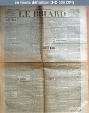LE BRIARD  numéro 63 du 19 août 1908