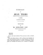 JEAN TILHO Membre de la section de géographie et navigation