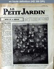 LE PETIT JARDIN  numéro 1319 du 25 mai 1927