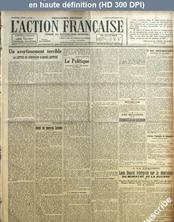 L' ACTION FRANCAISE  numéro 353 du 18 décembre 1920