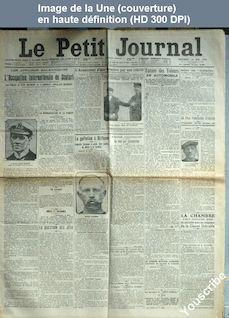 LE PETIT JOURNAL  numéro 18403 du 16 mai 1913