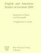 English and American Studies in German. Jahrgang 2006