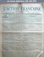 L' ACTION FRANCAISE  numéro 261 du 17 septembre 1912