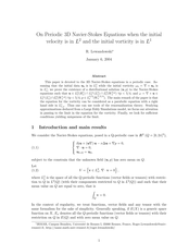 On Periodic 3D Navier-Stokes Equations when the initial velocity is in $L^2$ and the initial vorticity is in $L^1$.