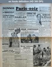 PARIS SOIR numéro 230 du 07 février 1941