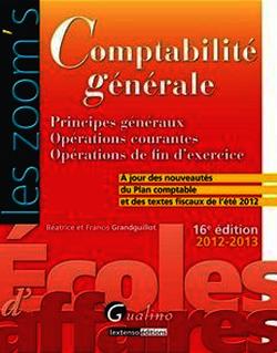Comptabilité générale 2012-2013 - 16e édition