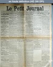 LE PETIT JOURNAL  numéro 18891 du 16 septembre 1914