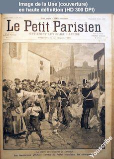 LE PETIT PARISIEN ILLUSTRE  numéro 194 du 23 octobre 1892