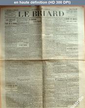 LE BRIARD  numéro 29 du 17 avril 1909