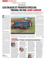 Les enjeux et perspectives du travail du sol sans labour