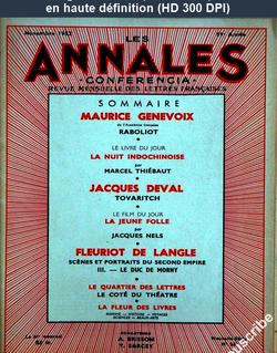 CONFERENCIA numéro 25 du 01 novembre 1952