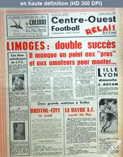 CENTRE OUEST FOOTBALL RELAIS numéro 447 du 22 mai 1958