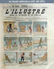 L' ILLUSTRE POUR LA JEUNESSE ET LA FAMILLE  du 22 juin 1906