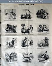 LE CHARIVARI  du 26 janvier 1868