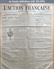 L' ACTION FRANCAISE  numéro 355 du 20 décembre 1916