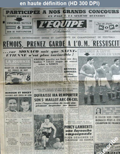 L' EQUIPE  numéro 3696 du 22 février 1958