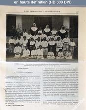 LES MISSIONS CATHOLIQUES  numéro 1894 du 22 septembre 1905