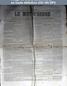 LE MOT D'ORDRE  numéro 81 du 15 mai 1871