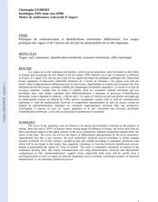 Politiques de communication et identifications territoriales différenciées. Les usages politiques des vagues et de l'univers du surf par les municipalités de la côte Aquitaine.