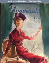 NOUVEAUTE numéro 1 du 01 janvier 1939