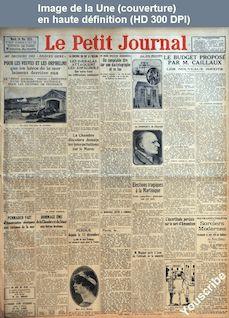 LE PETIT JOURNAL  numéro 22776 du 26 mai 1925