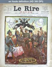 LE RIRE ROUGE  numéro 125 du 07 avril 1917