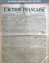 L' ACTION FRANCAISE  numéro 41 du 10 février 1911