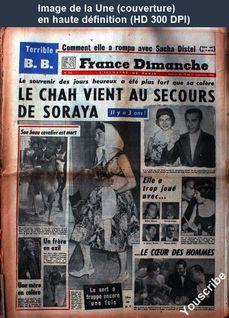FRANCE DIMANCHE numéro 734 du 15 septembre 1960
