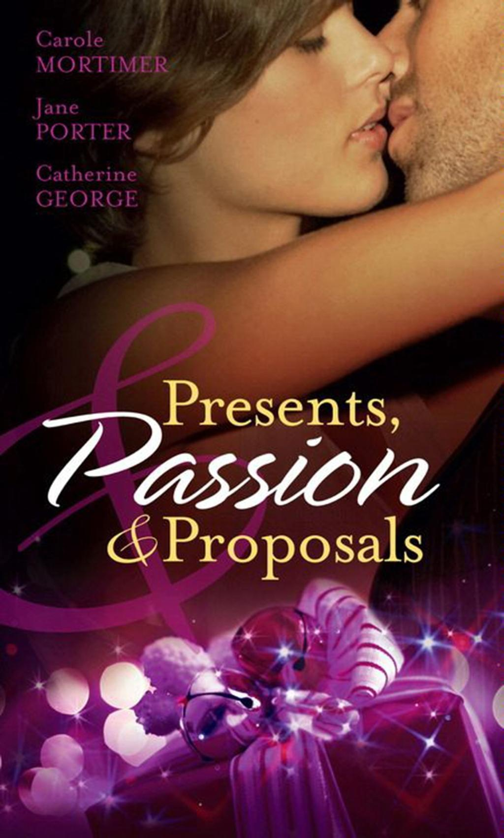 Presents, Passion and Proposals: The Billionaire's Christmas Gift / One Christmas Night in Venice / Snowbound with the Millionaire (Mills & Boon M&B)