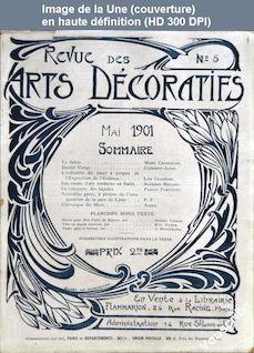 REVUE DES ARTS DECORATIFS numéro 5 du 01 mai 1901